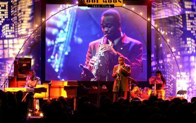 Harku tehases taaskord muusikaline suursündmus – 09.12. andis esmakordselt Eestis eksklusiivkontserdi maailma tippsaksofonist James Carter & The Organ Trio