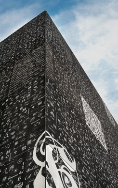 Graphic concrete enriches material´s opportunities for use