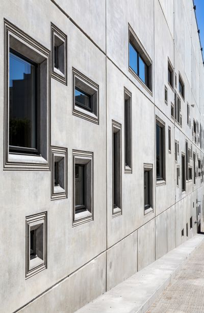 The contest for choosing the best concrete building has started