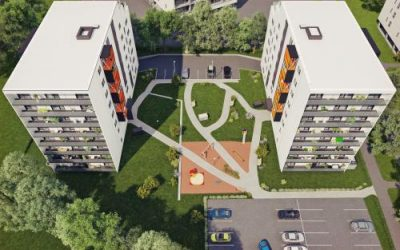 The concrete elements for the Kuklase Street apartment buildings will be supplied by E-Betoonelement