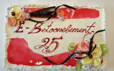 E-Betoonelement is celebrating its 25th anniversary