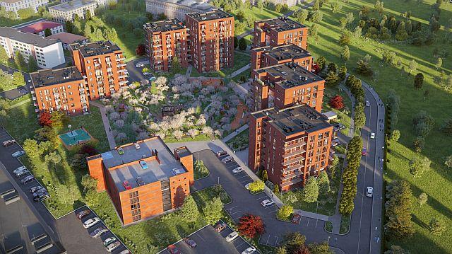 Alustatakse Manufaktuuri tänava elamupiirkonna esimese paaris elementelamu ehitamisega