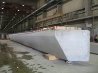 The first ViaPlus box-beams were completed in Tamsalu factory of AS E-Betoonelement