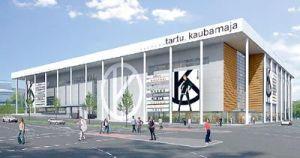 E-Betoonelement tarnib elemente Tartu Kaubamaja ehitusele