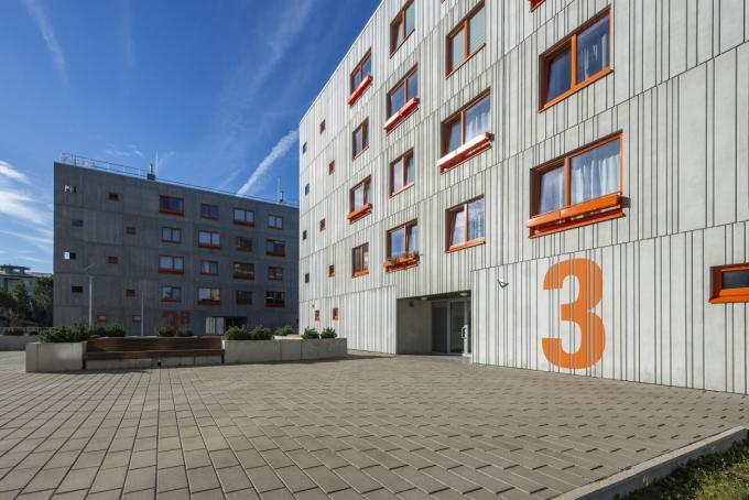 Fourth element building of Sõjakooli Street is under completion, a contract has been concluded for the buildings of Sammu Street