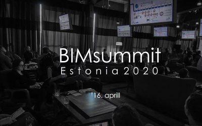 16. aprillil toimub Eesti suurim BIMi konverents BIMsummit