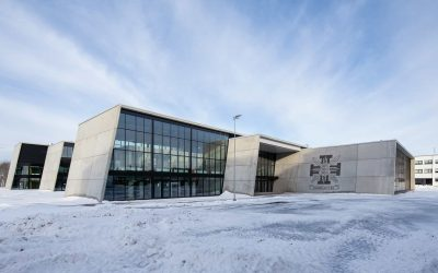 Estonian Concrete Building of the Year is the building of Estonian Academy of Security Sciences