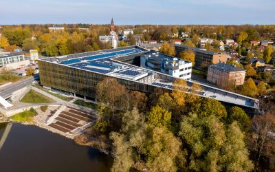 People of Tartu chose Delta Center as their favourite building of 2019