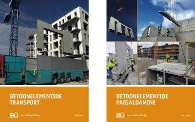 Betooniühingu uued juhendid – betoonelementide transport ja paigaldamine