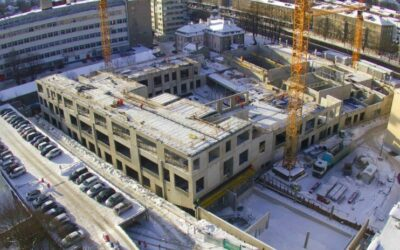 Таллиннская музыкально-балетная школа строится вопреки холоду