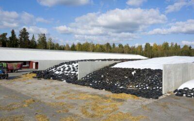 CABRO™ põllumajandusüksus tarnib esimesed silohoidlad Lätti