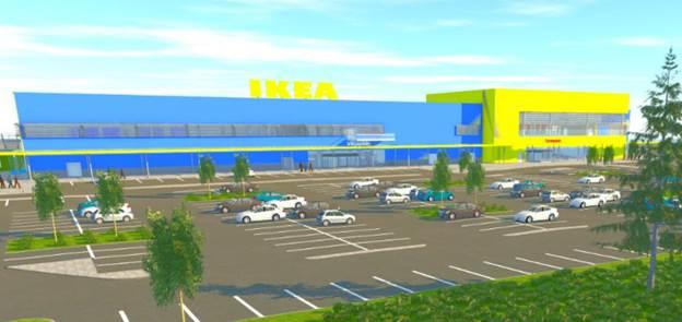 Концептуальный магазин IKEA будет построен из элементов